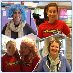 Mrs. Karkan, Ms. Kline, Mrs. Leard, Mrs. Mauriello, & Mrs. Hartley